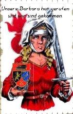 Die heilige Barbara -- Schutzpatronin der Artillerie